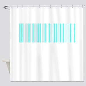 Barcode Shower Curtain