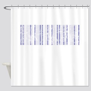 Aged, Barcode, Shower Curtain