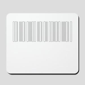 Glowing Barcode Mousepad