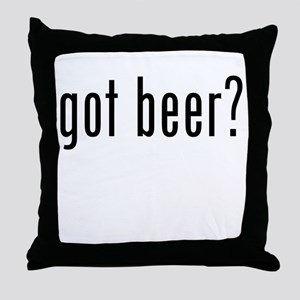Got Beer? Throw Pillow