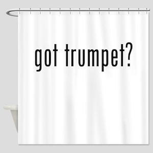 Got Trumpet? Shower Curtain