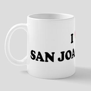 I Love SAN JOAQUIN Mug