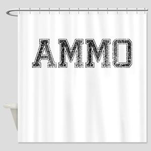 AMMO, Vintage Shower Curtain