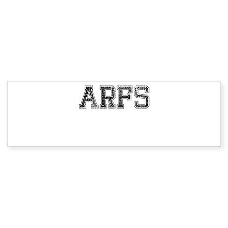ARFS, Vintage Sticker (Bumper)