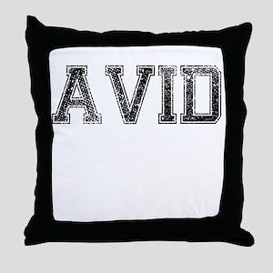AVID, Vintage Throw Pillow