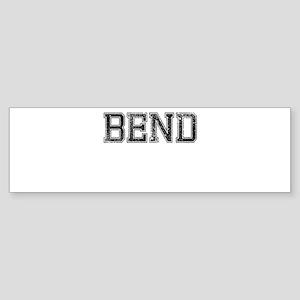 BEND, Vintage Sticker (Bumper)