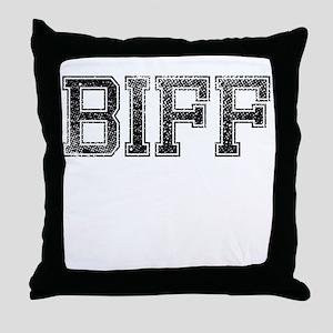 BIFF, Vintage Throw Pillow