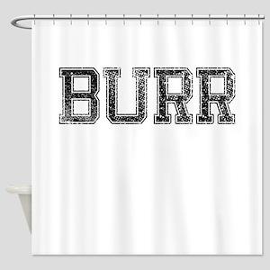 BURR, Vintage Shower Curtain