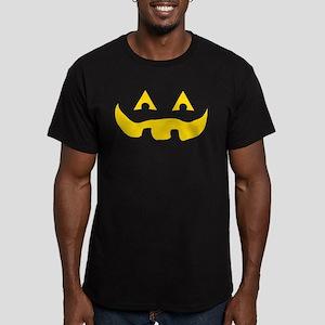 Jack O Lantern Matching Men's Fitted T-Shirt (dark