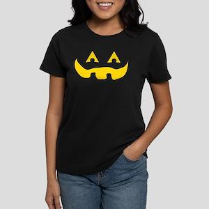 Jack O Lantern Matching Women's Dark T-Shirt