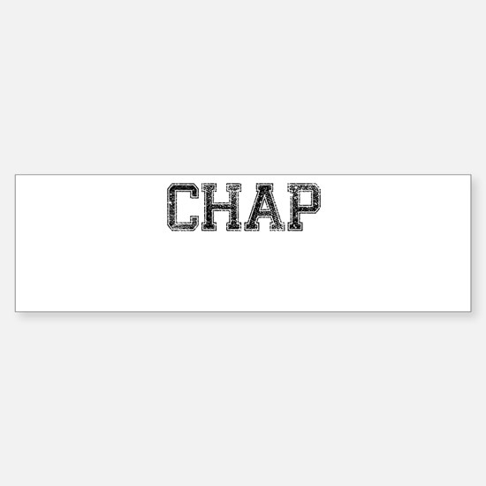 CHAP, Vintage Sticker (Bumper)