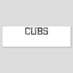CUBS, Vintage Sticker (Bumper)