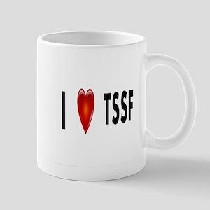 i Heart tssf Mug