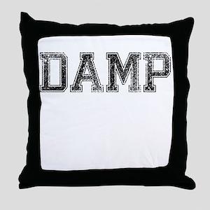 DAMP, Vintage Throw Pillow