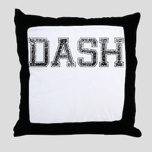 DASH, Vintage Throw Pillow