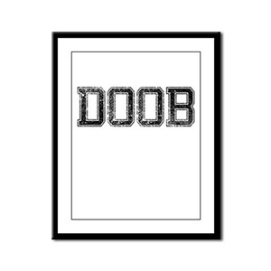 DOOB, Vintage Framed Panel Print