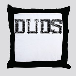 DUDS, Vintage Throw Pillow