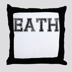EATH, Vintage Throw Pillow