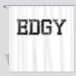 EDGY, Vintage Shower Curtain