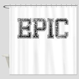 EPIC, Vintage Shower Curtain