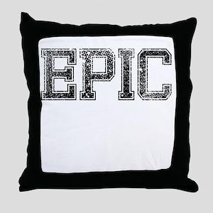EPIC, Vintage Throw Pillow
