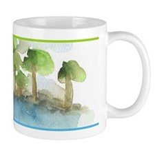 Trees by the sea 1 Mug