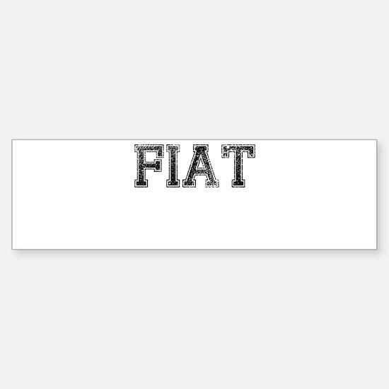 FIAT, Vintage Sticker (Bumper)