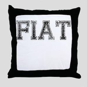 FIAT, Vintage Throw Pillow