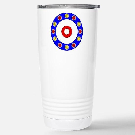 Curling Clock.png Stainless Steel Travel Mug