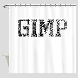 GIMP, Vintage Shower Curtain