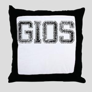 GIOS, Vintage Throw Pillow