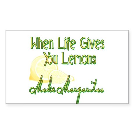 Make Margaritas Rectangle Sticker