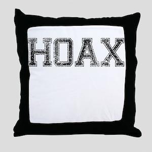 HOAX, Vintage Throw Pillow