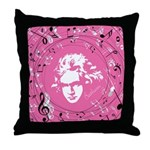 Beethoven Musical Gift Throw Pillow