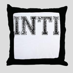 INTI, Vintage Throw Pillow
