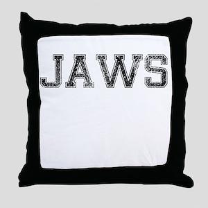 JAWS, Vintage Throw Pillow