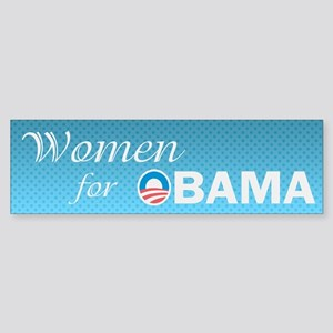 Women For Obama Sticker (Bumper)