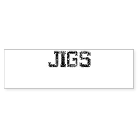 JIGS, Vintage Sticker (Bumper)