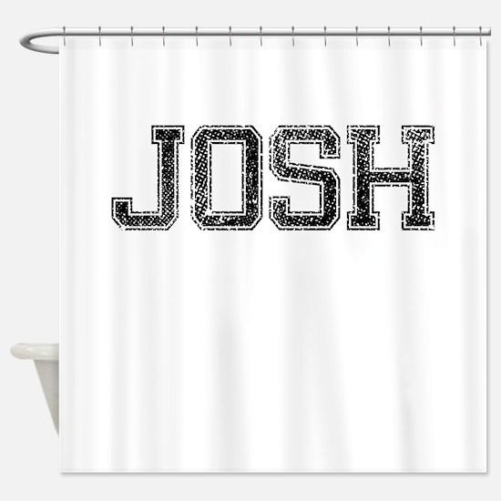 JOSH, Vintage Shower Curtain
