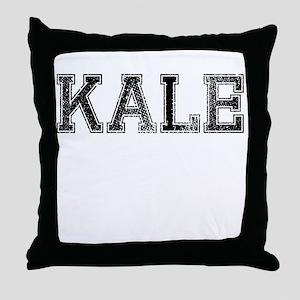 KALE, Vintage Throw Pillow