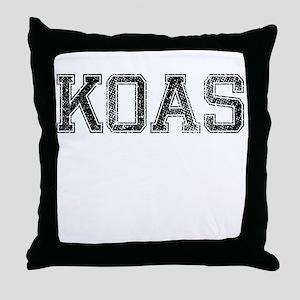KOAS, Vintage Throw Pillow