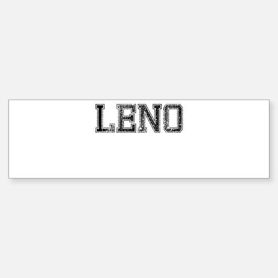 LENO, Vintage Sticker (Bumper)