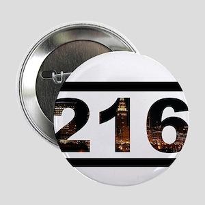 """Straight Outta 216 2.25"""" Button"""