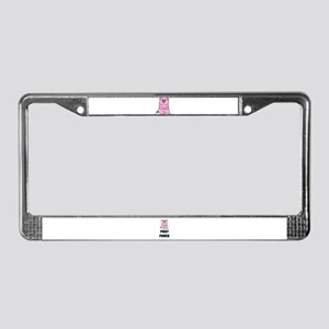 PIGGY POWER License Plate Frame