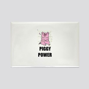 PIGGY POWER Rectangle Magnet