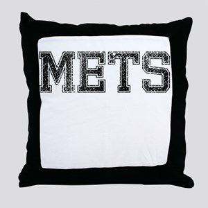 METS, Vintage Throw Pillow
