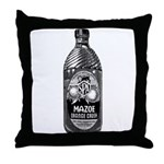 Mazoe (b/w) Throw Pillow