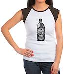 Mazoe (b/w) Women's Cap Sleeve T-Shirt