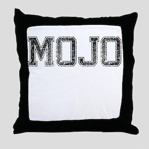 MOJO, Vintage Throw Pillow