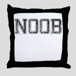 NOOB, Vintage Throw Pillow